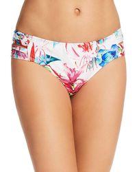 Athena - Tropical Trip Double Side-tab Hipster Bikini Bottom - Lyst