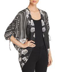 Tolani - Printed Kimono-style Cardigan - Lyst