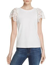 Generation Love - Sawyer Lace - Sleeve Top - Lyst