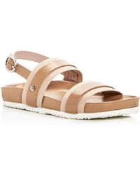 Taryn Rose - Women's Sandra Leather Platform Sandals - Lyst