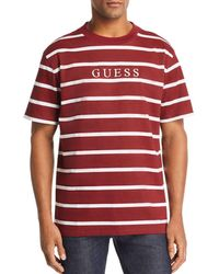 Guess - Doheny Stripe Tee - Lyst