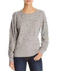 Joie - Jesiah Embellished Sweatshirt - Lyst