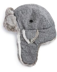 Bloomingdale's - Donegal Aviator Hat - Lyst