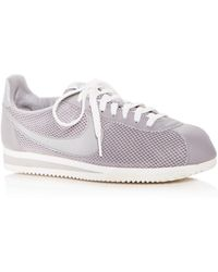 Nike - Women's Classic Cortez Mesh Lace Up Sneakers - Lyst