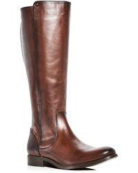 Frye - Women's Melissa Stud Leather Tall Boots - Lyst