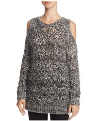 BB Dakota - Bernette Cold-shoulder Sweater - Lyst