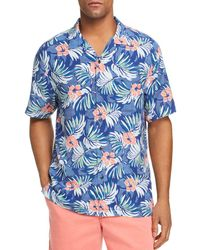 Tommy Bahama - Marina Blooms Short - Sleeve Floral - Print Classic Fit Shirt - Lyst