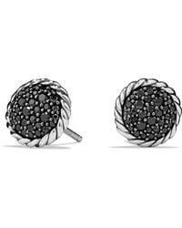 David Yurman - Châtelaine Pavé Earring With Black Diamonds - Lyst