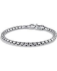 David Yurman - Large Box Chain Bracelet - Lyst