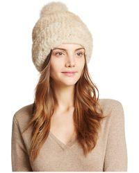 Maximilian - Knit Mink Hat - Bloomingdale's Exclusive - Lyst