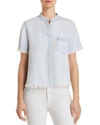 DL1961 - Montauk Chambray Shirt - Lyst