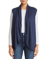 B Collection By Bobeau - Kori Shawl - Collar Knit Vest - Lyst