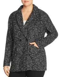 Eileen Fisher - Marled Double Breasted Blazer - Lyst