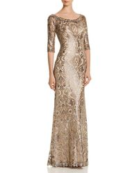 Tadashi Shoji - Sequin-embellished Gown - Lyst