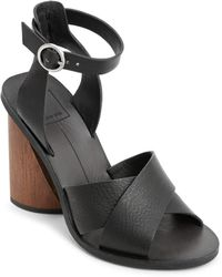 Dolce Vita - Women's Athena Leather Ankle Strap Sandals - Lyst