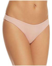 Eberjey   So Solid Annia Bikini Bottom   Lyst