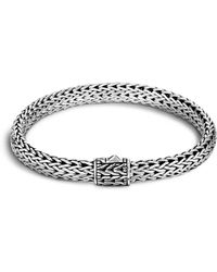 John Hardy - Classic Chain Sterling Silver Small Bracelet - Lyst