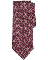 Brooks Brothers - Paisley Pine Silk Classic Tie - Lyst