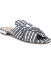 Sam Edelman - Women's Darian Striped Slide Sandals - Lyst