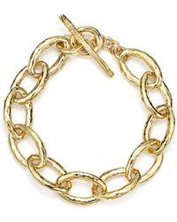 Ippolita - 18k Gold Glamazon Mini Bastille Link Bracelet - Lyst