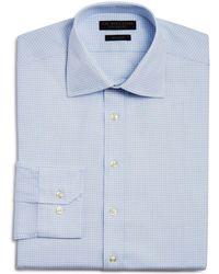 Bloomingdale's - Grid Regular Fit Dress Shirt - Lyst