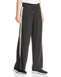 a77ebaa03a Two By Vince Camuto Wide Leg Yoga Pants in Black - Lyst
