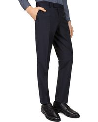 The Kooples - The Dotted Stripe Slim Fit Dress Pants - Lyst