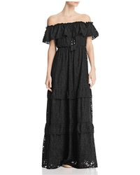 Catherine Malandrino - Virginie Off-the-shoulder Maxi Dress - Lyst