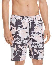 Spiritual Gangster - Nirvana Camouflage Board Shorts - Lyst