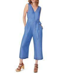 NYDJ - Sleeveless Chambray Jumpsuit - Lyst