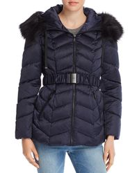 T Tahari - Leon Belted Quilted Jacket - Lyst