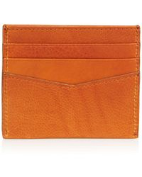 Bloomingdale's - Smooth Leather Card Case - Lyst