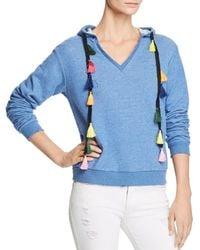 Honey Punch - Tassel Hooded Sweatshirt - Lyst