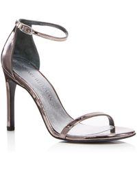 Stuart Weitzman - Nudistsong Ankle Strap High Heel Sandals - Lyst