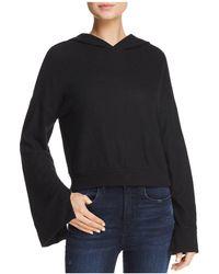 Project Social T - Edison Bell Sleeve Hooded Sweatshirt - Lyst
