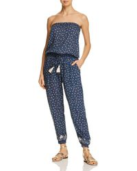 Cool Change - Brooke Jumpsuit Swim Cover-up - Lyst