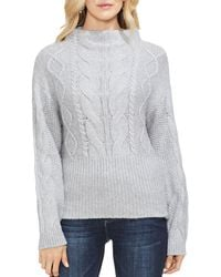 Vince Camuto - Cable-knit Jumper - Lyst
