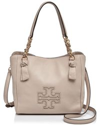Tory Burch - Harper Small Leather Satchel - Lyst