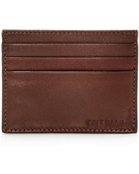 Cole Haan - Hamilton Grand Leather Card Case - Lyst