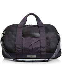 Lyst - Adidas By Stella Mccartney Black Small Gym Bag in Black 6b35e73998