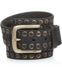 John Varvatos - Men's Studded Leather Belt - Lyst
