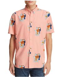 Barney Cools - Toucan Short Sleeve Button-down Shirt - Lyst