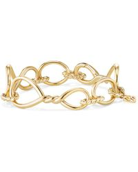 David Yurman - Continuance 18k Gold Chain Bracelet - Lyst