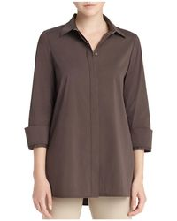 Lafayette 148 New York - Augusta Collar-detail Shirt - Lyst