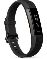Fitbit - Alta Hrtm Gunmetal Series Fitness Wristband - Lyst