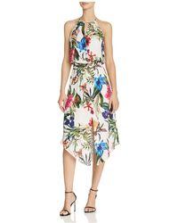Parker - Herley Floral Silk Dress - Lyst