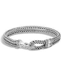 John Hardy - Men's Sterling Silver Classic Chain Double-row Bracelet - Lyst