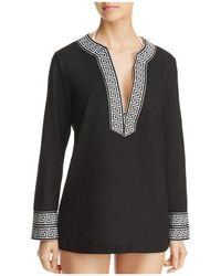 Macbeth Collection - V-neck Tunic Swim Cover-up - Lyst