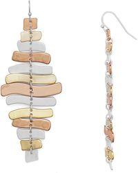 Robert Lee Morris - Wishbone Chandelier Earrings - Lyst