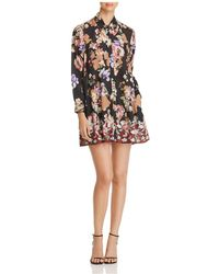 Tolani - Mini Shirt Dress - Lyst